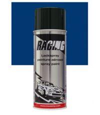 Peinture aérosol bleu métalissé 400 ml - RACING