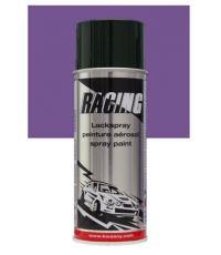Peinture aérosol lilas métalissé 400 ml - RACING