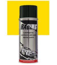 Peinture aérosol jaune colza RAL 1021 400 ml - RACING