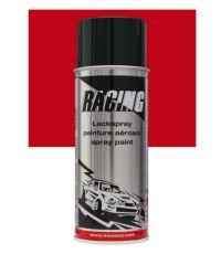 Peinture aérosol rouge feu RAL 3000 400 ml - RACING