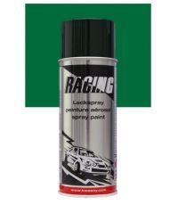 Peinture aérosol vert feuillage RAL 6002 400 ml - RACING
