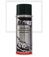 Peinture aérosol blanc pur mat RAL 9010 400 ml - RACING