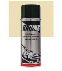 Peinture aérosol ivoire clair RAL 1015 400 ml - RACING