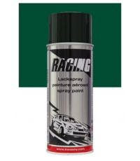 Peinture aérosol vert mousse RAL 6005 400 ml - RACING