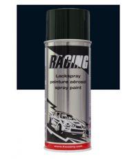 Peinture aérosol noir foncé RAL 9005 400 ml - RACING
