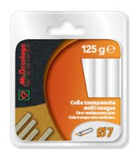 Colle thermofusible multi-usages 125g diamètre 7 - MR BRICOLAGE