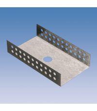 4 accessoires de montage métallique en forme de U pour panneau à carreler - LUX ELEMENTS