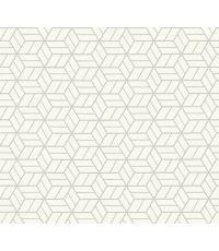 Papier Peint Vinyl Expansé Intissé Londres Blanc 10x0,53m 5,3m² - AS CREATION