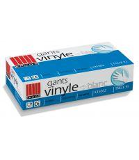 Boite 100 gants vinyle T.M - ERGOS