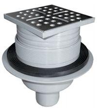 Siphon vertical ou horizontal receveur à carreler