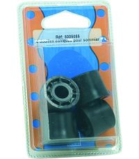 Blister 4 pieces douille noir H.18 ∅25 - EVOLUDIS