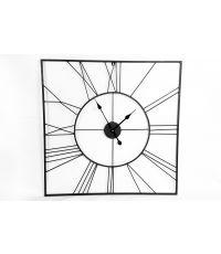 Horloge pendule métallique romaine 80cm - SIL