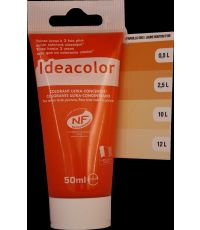 Colorant universel coloris jaune bouton d'or 50 ml - IDEACOLOR