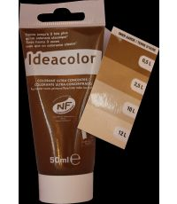 Colorant universel pour peinture coloris terre d'ocre 50 ml -  IDEACOLOR