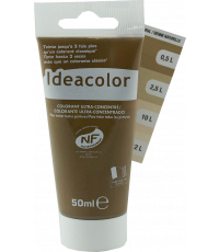 Colorant universel coloris Sienne naturelle 50 ml - IDEACOLOR
