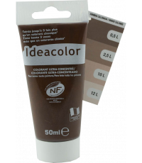 Colorant universel coloris ombre calcinée 50 ml - IDEACOLOR