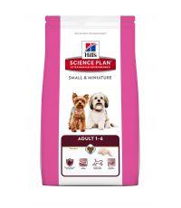 Croquettes pour chien adulte mini saveur Poulet 1,5kg - Hill's Science Plan