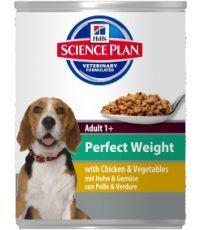 Pâtée pour chien adulte perfect weight poulet 363gr - Hill's science plan