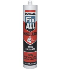 Mastic-colle Fix All charges lourdes 290 ml - SOUDAL
