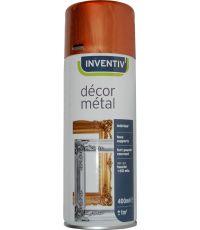 Peinture aérosol or antique mat 400 ml - INVENTIV