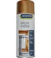 Peinture aérosol or mat 400 ml - INVENTIV
