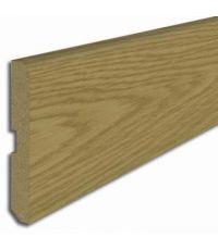 Plinthe revêtu papier chêne ceruse 2200 x 70 x 8 mm