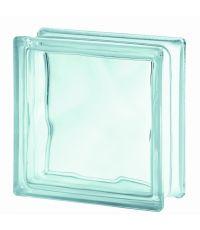 Brique de verre incolore 19x19x8cm