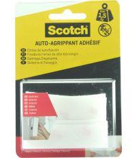 Bandes auto-aggripantes blanc intérieur scotch 76mmX19mm - SCOTCH