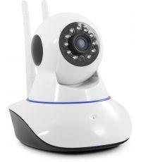 Caméra IP Wifi 720p intérieure + détection de mouvement - blanc