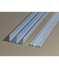 Kit rails optissimes acier blanc l360cm - OPTISSIMES