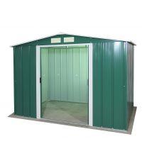 Abri de jardin Titan vert - 4,77 m² - DURAMAX