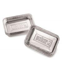Petites barquettes en aluminium - WEBER