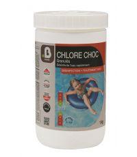 Traitement piscine Chlore choc granulés 1kg - BHOME