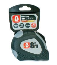 Mètre ruban bi matière 8m x 25mm - B POWER