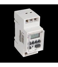 Horloge modulaire digitale grise 16a - DEBFLEX