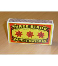 Boîte allumettes 32 P - TROIS ETOILES