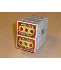 Boîte allumettes x10 - TROIS ETOILES