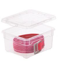 Boîte de rangement transparente avec couvercle 2L clear box accessoires