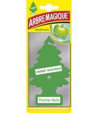 Désodorisant voiture arbre parfum pomme verte - ARBRE MAGIQUE