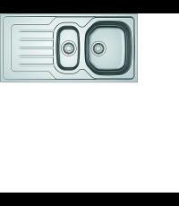 Evier Inox Dekor - OLL 150 Onda Line - FRANKE