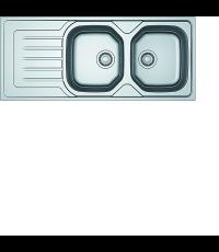 Evier Inox Lisse - Olx 210 Onda Line - FRANKE