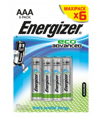 Piles AAA Eco Advanced LR03 x 6 - ENERGIZER