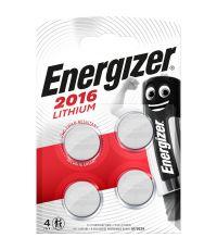 Blister de 4 piles 2016 Lithium - ENERGIZER