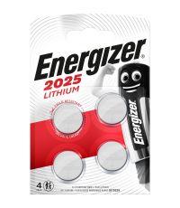 Blister de 4 piles 2025 Lithium - ENERGIZER