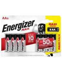 Blister de 8 piles AA LR06 Max - ENERGIZER
