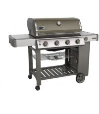 Barbecue à gaz Genesis II E-410 plancha smoke grey - WEBER