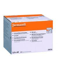Vis autoperceuses pour plaques cloisons Fermacell (1000 pièces)