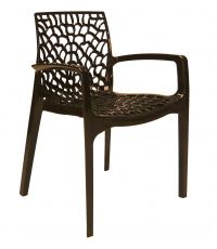 Fauteuil design Gruvyer anthracite
