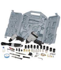 Mallette outillage pneumatique pour compresseur 49 pièces