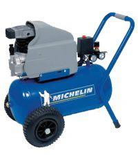 Compresseur électrique sur chariot MCX 24 moteur 2 HP - 24 L à air comprimé MICHELIN